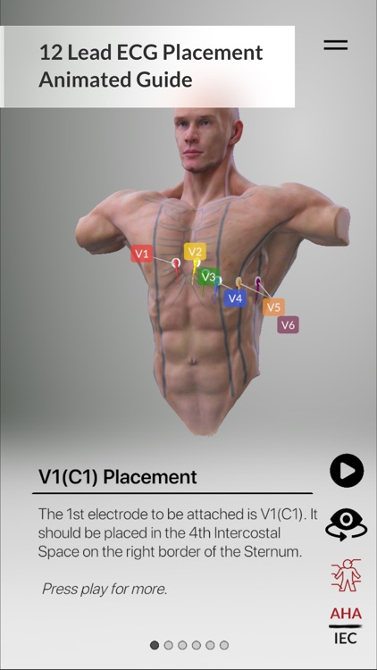 3D ECG Leads screenshot-3