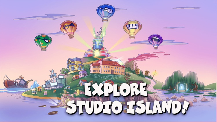 Studio Island: Kids Music Apps screenshot-1
