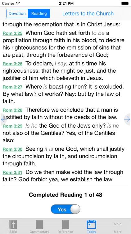 e-Sword LT: Bible Study to Go screenshot-4