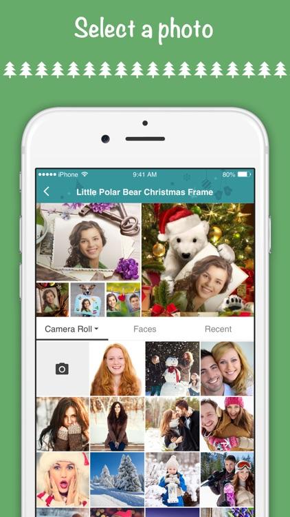 Christmas Cards - Photo Editor screenshot-4