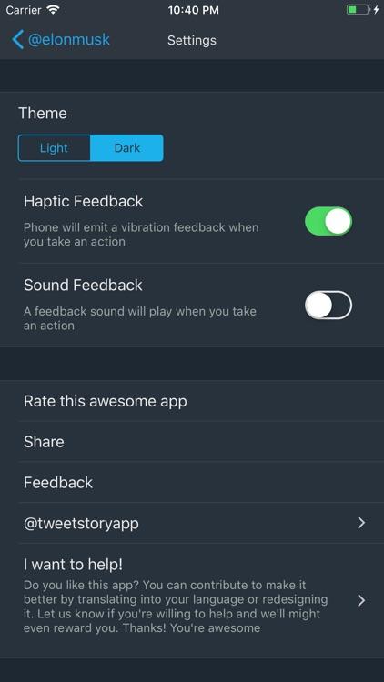 TweetStory - Daily past tweets screenshot-3