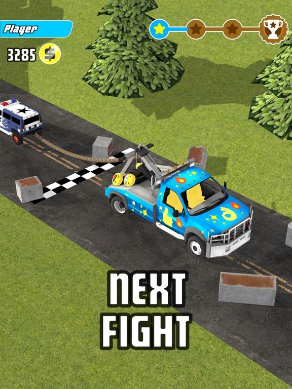 iPad Image of Trucks Tug Of War