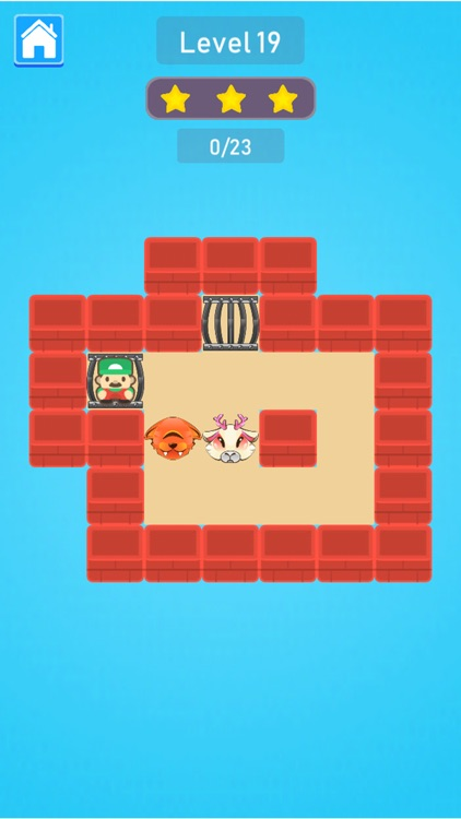 Cage Monsters Push Puzzle screenshot-3