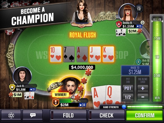 World Series of Poker - WSOP Texas Holdem Free Casino screenshot