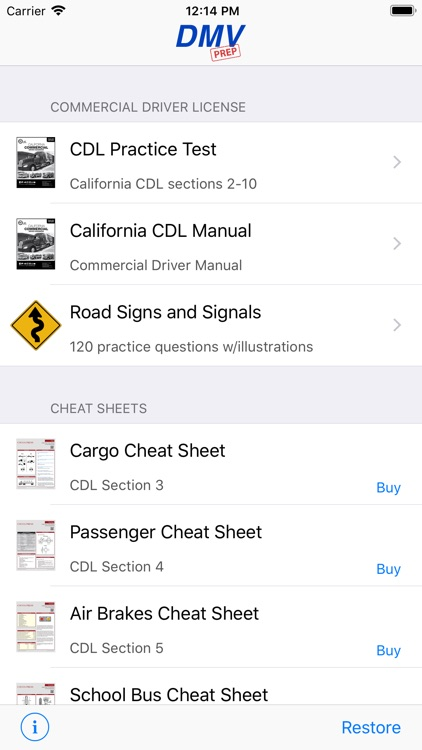 California CDL Test Prep