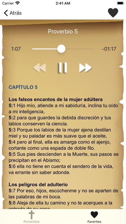 Proverbios Bíblicos screenshot-3