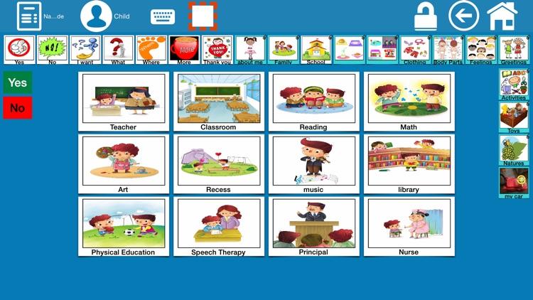 EESpeech Pro - AAC screenshot-3