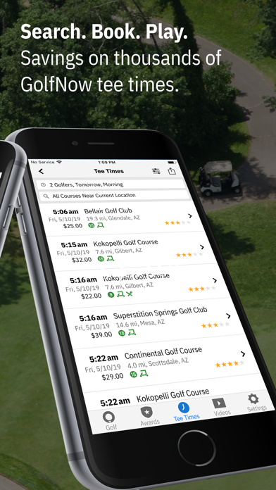 Screenshot for Golfshot Plus: Golf GPS + AR in Egypt App Store