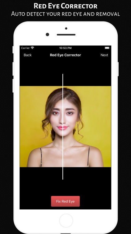 Red Eye Corrector - Editor App