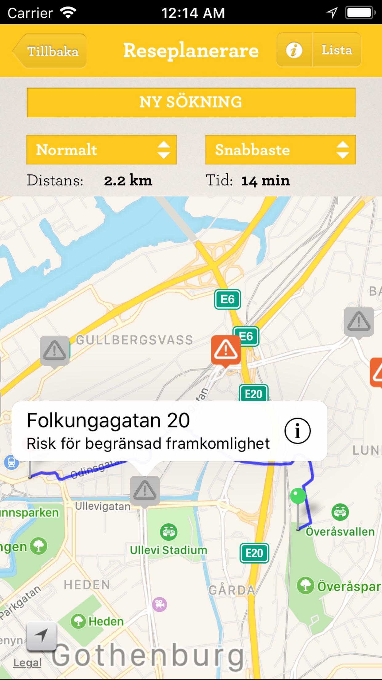 Cykelstaden Screenshot