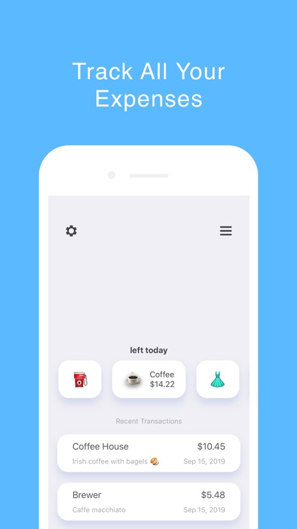 The Prax: Budget Tracker screenshot-0