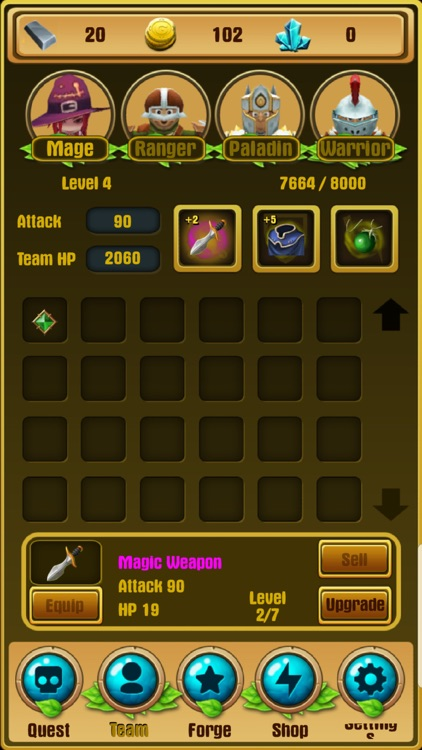 Dungeons & Puzzles: RPG Quest