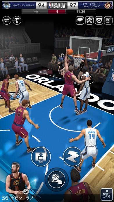 NBA NOW:モバイルバスケットボールゲーム紹介画像6