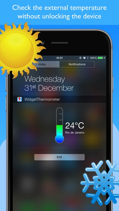 Widget Thermometer Simple Screenshots