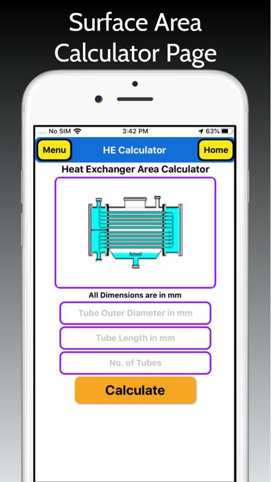 Heat Exchanger Area Pro screenshot 2