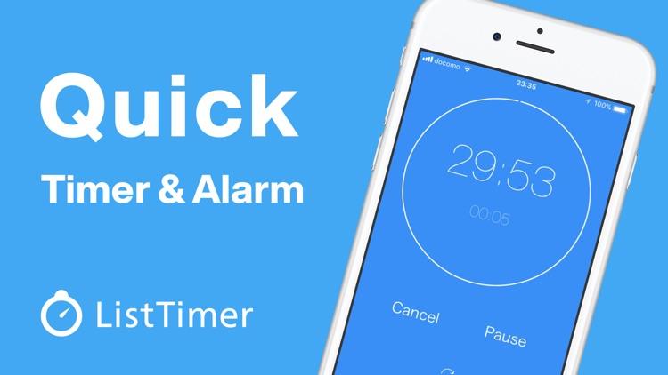 Timer & Alarm ListTimer screenshot-0