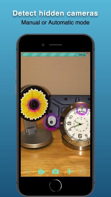 Spy hidden camera Detector screenshot-0