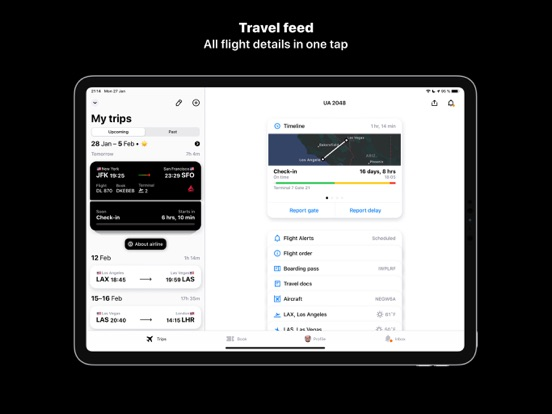 App in the Air - Live Track Flight and Airport screenshot