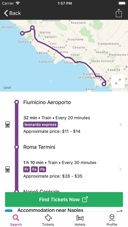 Rome2rio: Trip Planner