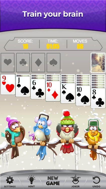 Solitaire * Patience Card Game screenshot-5