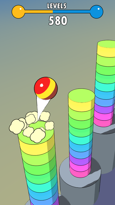 Ball Fly 3D screenshot 2