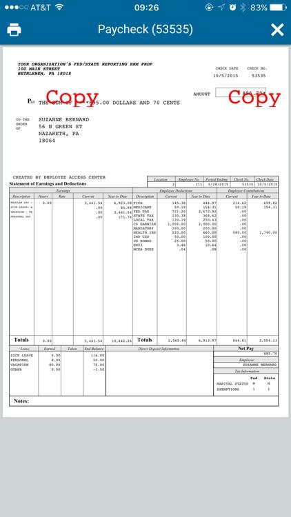 eFinancePLUS Employee screenshot-4