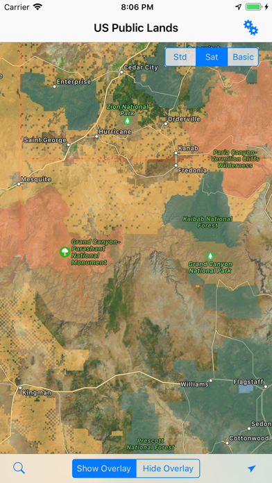 US Public Lands Screenshot