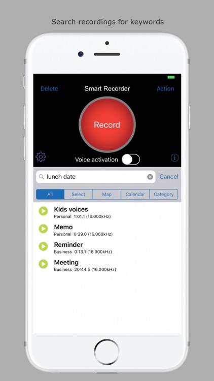 Smart Recorder and transcriber screenshot-9