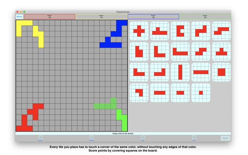 Polyominoes for Mac