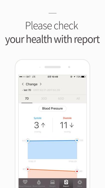 Blood Pressure(BP) Diary screenshot-3
