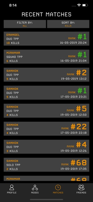 Stats Tracker for PUBG on the App Store
