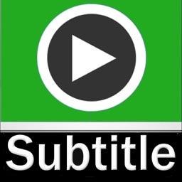 Video Subtitle Hardcoder