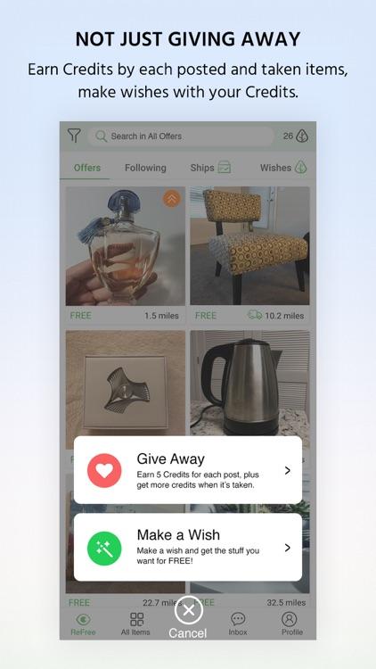 ReFree: Reuse/Swap FREE Stuff screenshot-4
