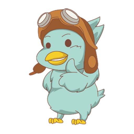 Blue Pilot Bird