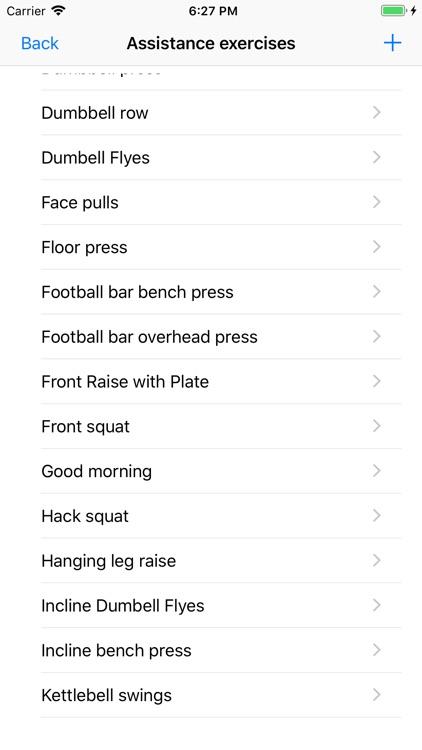 5/3/1 Workout logger - 531 screenshot-8