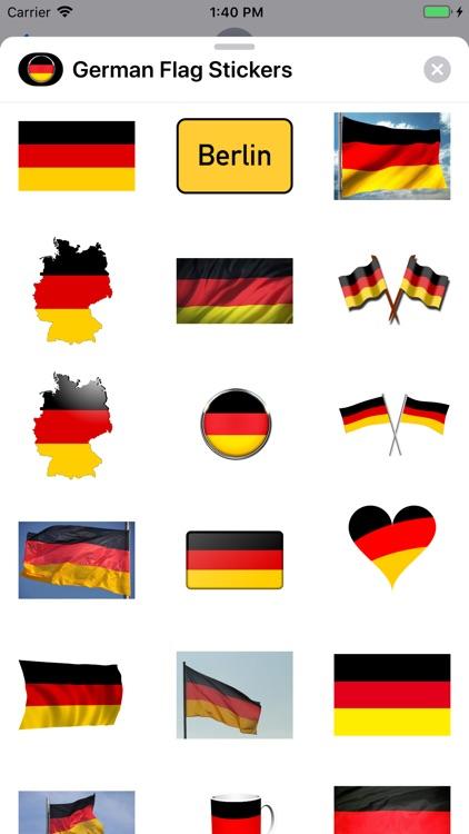 German Flag Stickers