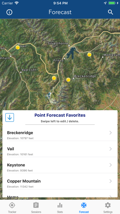 Ski Tracker & Snow Forecast screenshot 7