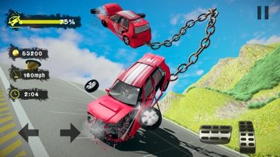Chained Car Crash Beam Drivingのおすすめ画像5