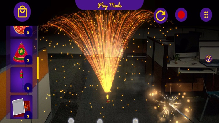 Augmented Reality Fireworks! screenshot-3