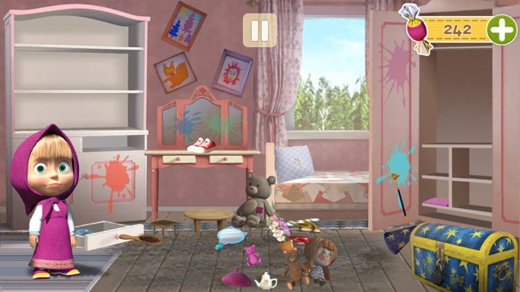 Masha and the Bear Clean House screenshot-3
