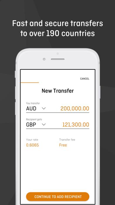 OFX Money Transfer screenshot three