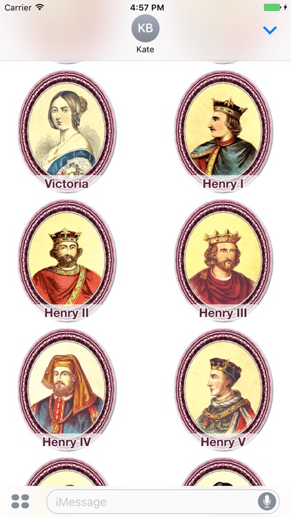 Famous Kings and Queens!
