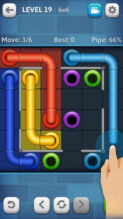 Line Puzzle: Pipe Art screenshot-3