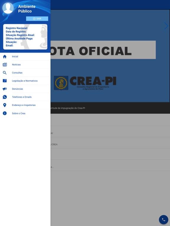 Ipad Screen Shot CREA-PI 1