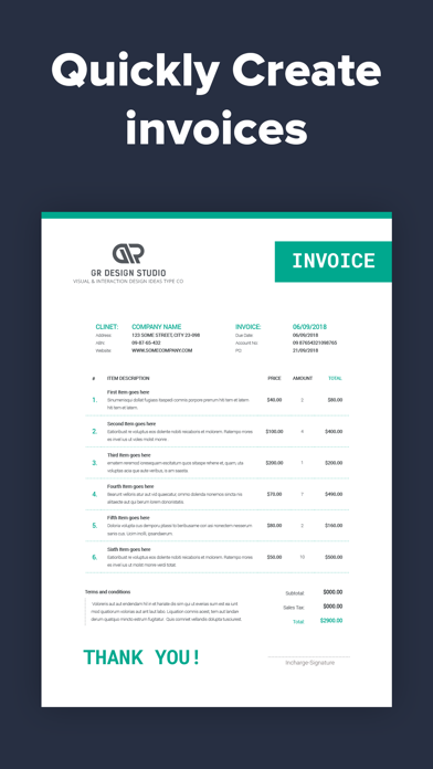 Invoice Maker By Green Red Llc Ios United States