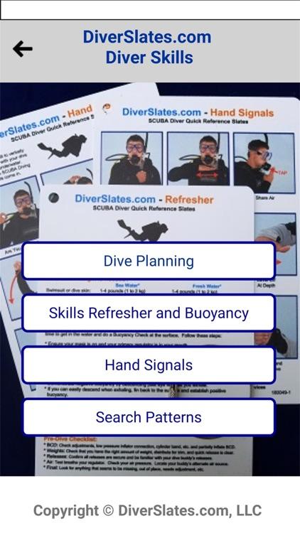 DiverSlates Scuba eSlates screenshot-3