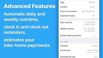 HoursTracker: Hours and Pay
