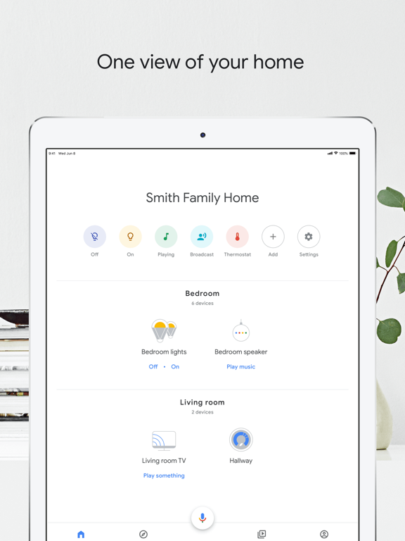 Google Home-ipad-0