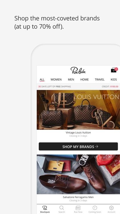 Rue La La - Shop Top Fashion screenshot-0