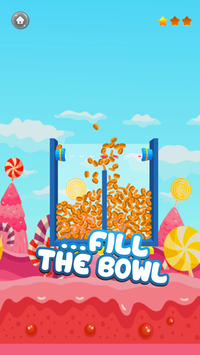 Candy Master: Fill The Glass